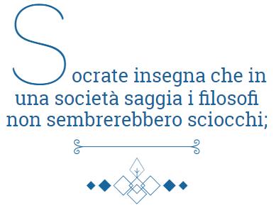 Socrate-insegna