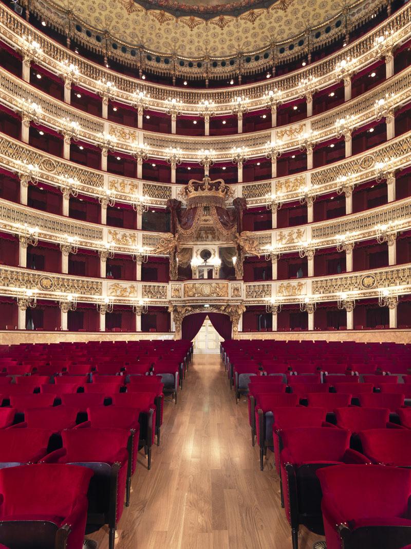 Teatro di San Carlo, lavori di ristrutturazione ago.2008 - gen.2
