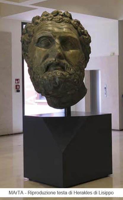 testa di Herakles