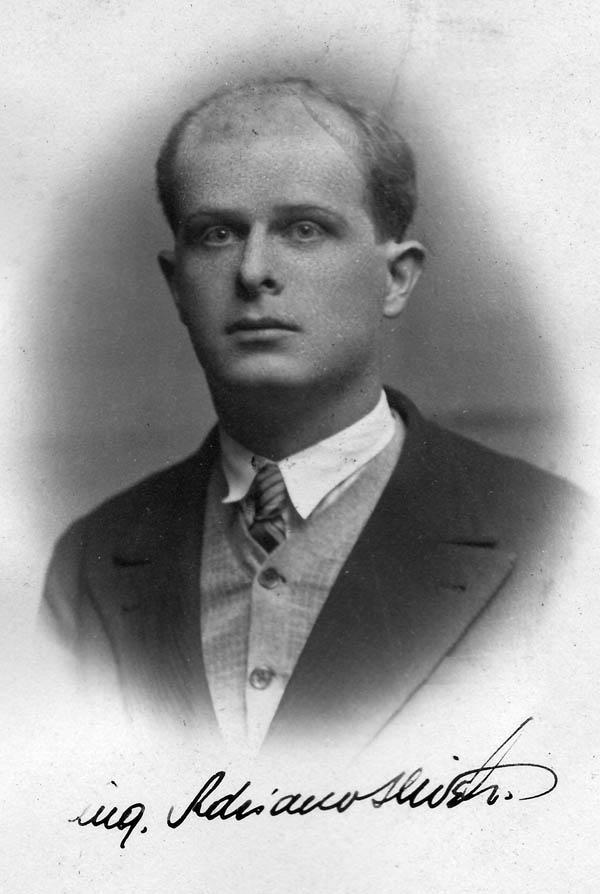 8 - Adriano Olivetti 1925